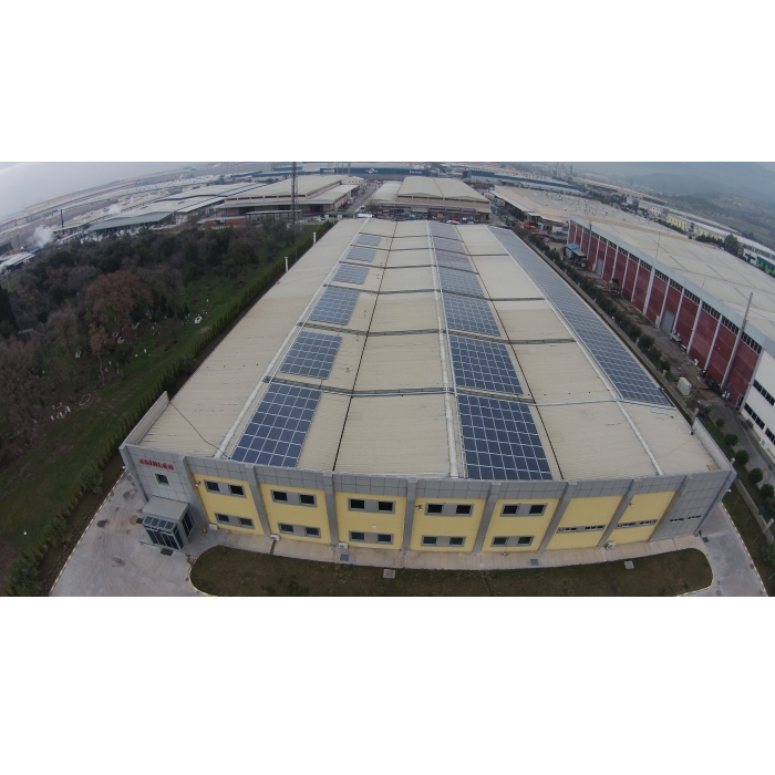 Manisa 252 kWp ROOFTOP PROJECT